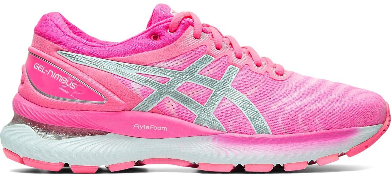 asics Gel-Nimbus 22 Zapatillas Mujer, hot pink/pure silver